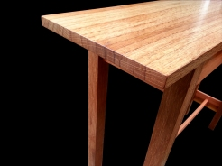Oak concsole table